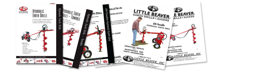 Little Beaver Manuals, and brochures