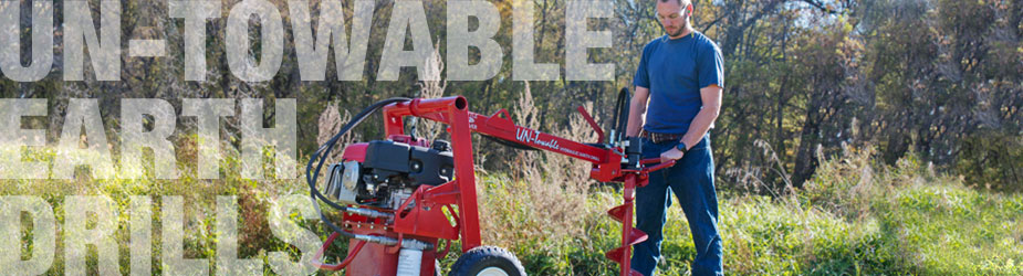 Little Beaver UN-Towable Earth Drill application photo