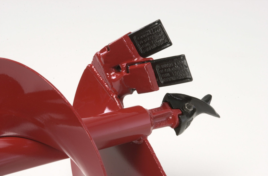 Heavy-Duty Auger Points and Blades